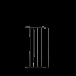 Pare feu-Intégrale (Volets complementaires)-Acier-Noir givré-
