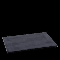 Plaque de fonte-Unie-Acier-Noir-