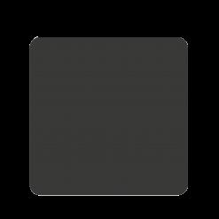 Plaque de sol-Carree-Acier-Noir givré-