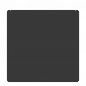 Plaque de sol-Carree-Acier-Gris sablé-