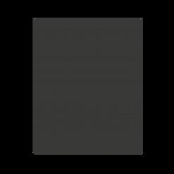 Plaque de sol-Speciale protections murales-Acier-Noir givré-