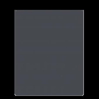 Plaque de sol-Rectangulaire-Acier-Gris sablé-