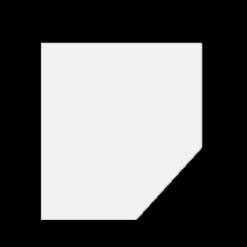 Plaque de sol-Pentagone-Verre trempé-Verre-