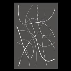 Protection murale-Flame-Acier / Silicate de calcium-Gris sablé-