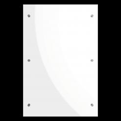Protection murale-Glass-Verre trempé / Epaisseur 6 mm-Verre-