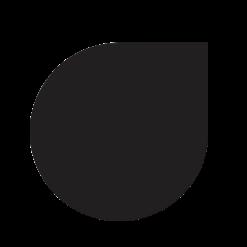 Plaque de sol-Goutte d'eau-Acier-Noir givré-