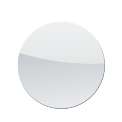 Plaque de sol-Ronde-Verre trempé-Verre-