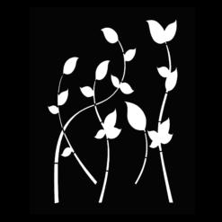 Protection murale-Primavera-Acier / Silicate de calcium-Noir givré-