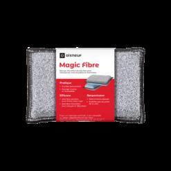 Eponge microfibre pour vitre-Magic Fibre-Microfibre et Polyester--