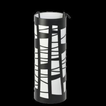 Serviteur-Artwork-Acier-Noir / blanc mat-