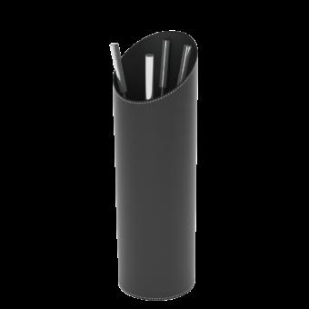 Serviteur-Epsilon-Simili cuir-Noir / Intérieur noir-