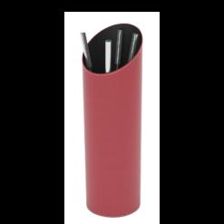 Serviteur-Epsilon-Simili cuir-Framboise / Intérieur noir-