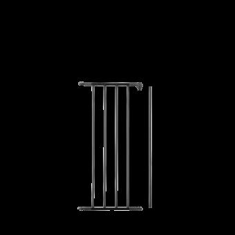 Protection pour poêle-Intégrale (Volet complementaire)-Acier-Noir givré-
