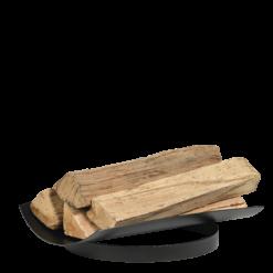 Range-bûches-Leaf 50-Acier-Noir-10 bûches