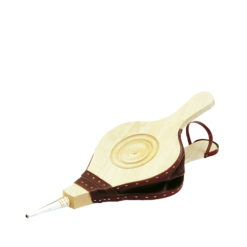 Soufflet-Origine (Décor rosace)-Hêtre