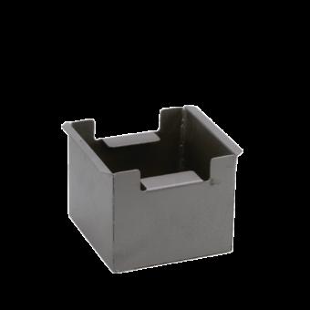 Bac récupérateur de cendres-Bakki-Fonte-Noir-