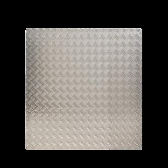 Plaque de sol-Tôle à damiers-Aluminium / Epaisseur 3 mm-Brut-