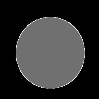 Plaque de sol-Ronde-Acier-Gris sablé-