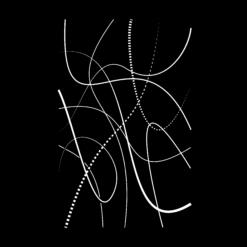 Protection murale-Flame-Acier / Silicate de calcium-Noir givré-
