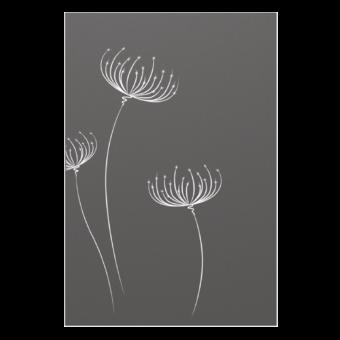 Protection murale-Bucolik-Acier / Silicate de calcium-Gris sablé-