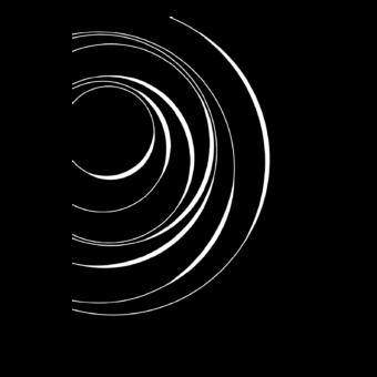 Protection murale-Vortex-Acier / Silicate de calcium-Noir givré-