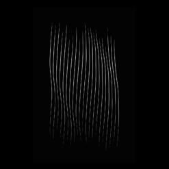 Protection murale-Ascensio-Acier / Silicate de calcium-Noir givré-